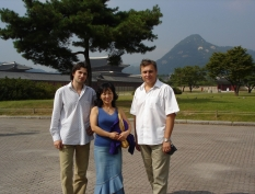 With conductor Christian Sandu(Romania) & Yu Son Yong Choi (soprano), South Korea