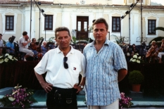 With Oleksandr Butko, Vice President of NRCU, tour in Italy, 2007