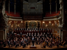 Ukrainian Radio Symphony Orchestra and Choir, Palau de la Musica, Barcelona, Spain, 2008