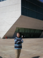 Casa da Musica, Porto, Portugal, 2008, after the rehearsal