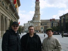 With  Michail Puliev (bariton, Bulgary) & Arsen Arsov (tenor, Bulgary), Spain, 2009