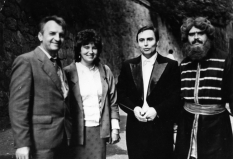 1988, Kiev, after performance