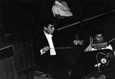 1988, conductor Vladimir Sheiko, during the rehearsal