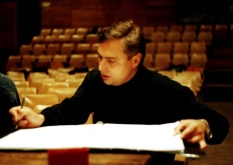 Vladimir Sheiko, 1999,  Big Concert Recording Studio, before recording
