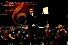Algeria. VI International Festival of Symphonic Music. During the concert.