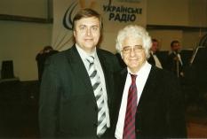Vladimir Sheiko with conductor  Loris  Tcheknavorian (Iran)