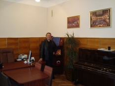 Vladimir Sheiko. In the office