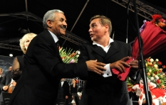Vladimir Sheiko with commissioner of the V International Festival of Symphonic Music Abdelkader Bouazzara