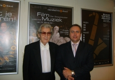 Vladimir Sheiko with conductor Fuat Mansurov (Russia)