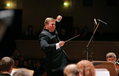 Vladimir Sheiko. Tchaikovsky National Music Academy of Ukraine. During the concert.