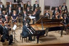 Korea - Ukraine Friendship Concert. Soloist Won Kim (piano, Korea)