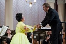 Korea - Ukraine Friendship Concert. Soloist Kay Pahk (soprano, Korea)
