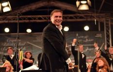 Vladimir Sheiko. Algeria. V International Festival of Symphonic Music. During the concert.