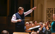 Vladimir Sheiko.Vladimir Sheiko. G Verdi. Requiem. During the rehearsal.