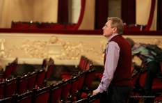 Vladimir Sheiko. The National Opera of Ukraine. During the rehearsal.