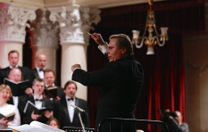 Vladimir Sheiko. The National Philharmonic of Ukraine. G Verdi. Requiem. During the concert.