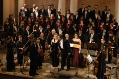 On the stage of the National Philharmonic Society of Ukraine