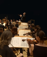 Ukrainian Radio Symphony Orchestra. During the concert