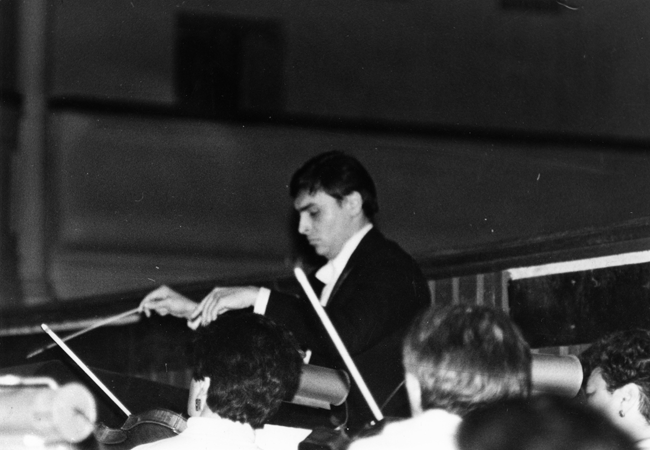 Kiev,1988, after premier of the N. Rimsky-Korsakov's opera